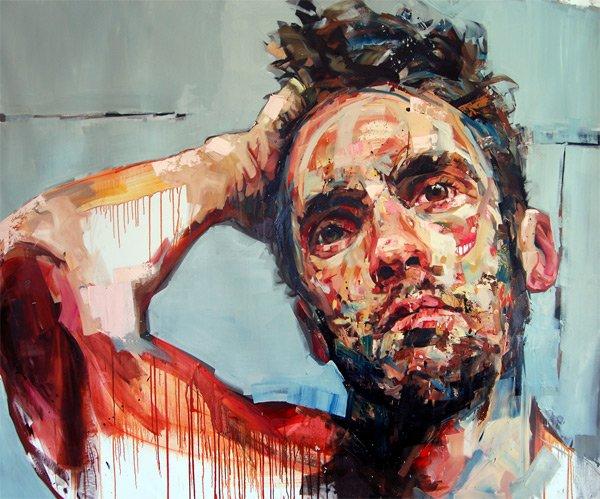 мужские портреты карандашом: