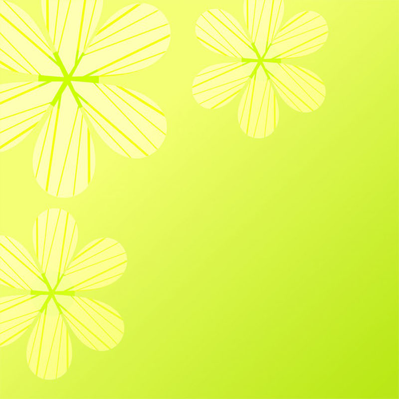 Daisy on green background,vector illustration