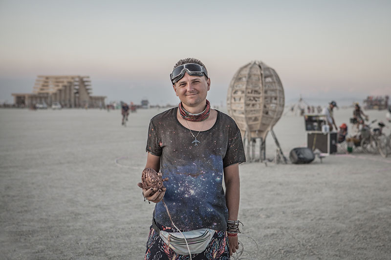 Artmisto creative team is preparing an interactive art installation named Renaissance at Burning Man 2020